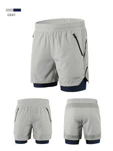 2 In 1 Breathable Shorts