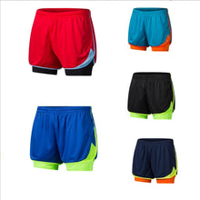 Load image into Gallery viewer, 2 in 1 Men's Marathon Running Shorts