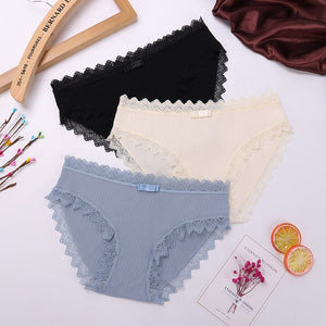 3PCS Women's Cotton Panties