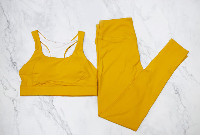 Trendy Yoga Set