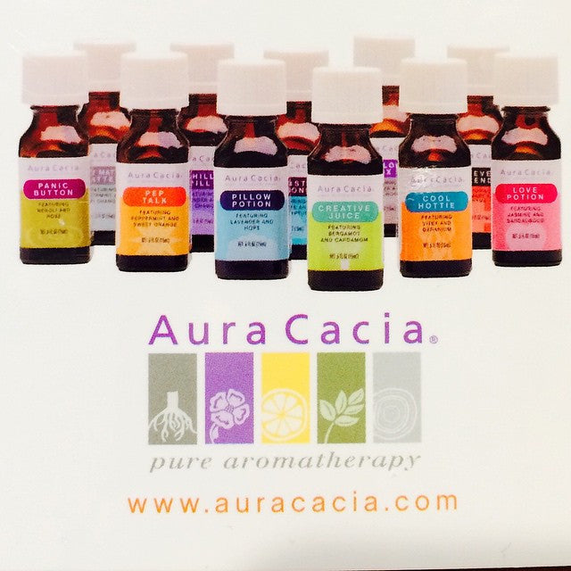 Aura Cacia Essential Solution Blends
