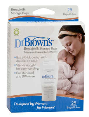Dr. Browns  Breast Milk Storage Bags - 25ct S4005H