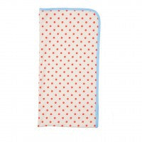 Farm Boy Blanket with Red Dots