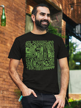 Load image into Gallery viewer, T-shirt with Cool Pattern Motif