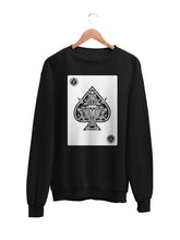 Load image into Gallery viewer, Sweatshirt with Ace Motif