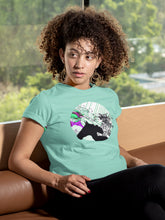 Load image into Gallery viewer, T-shirt with Android Girl - Women
