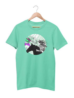 T-shirt with Android Girl