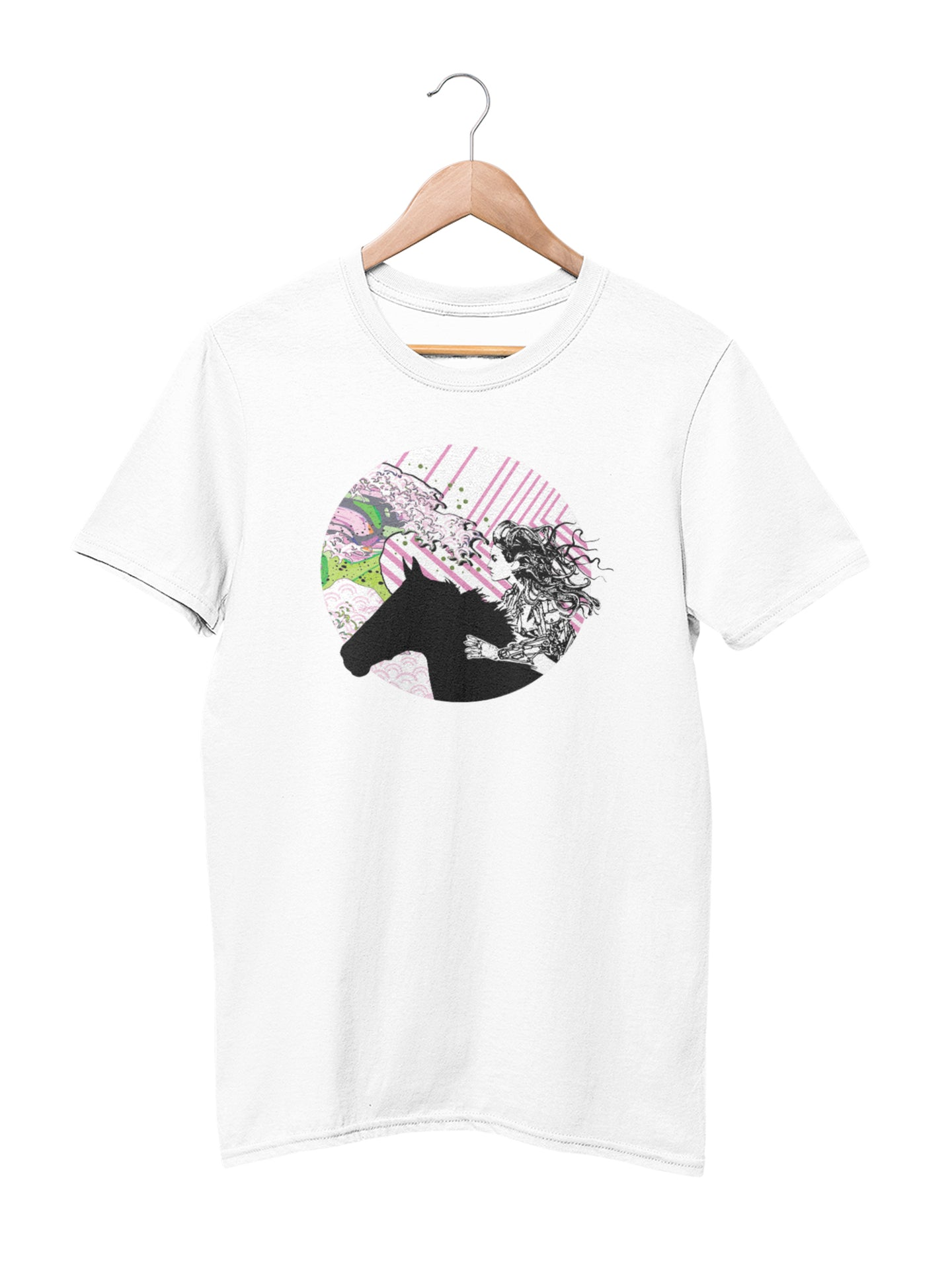 T-shirt with Android Girl - Women