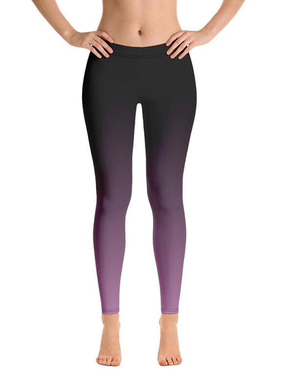 Black and Purple Royal Leggings