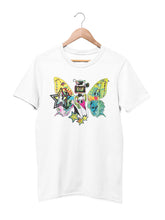 Load image into Gallery viewer, T-shirt with Butterfly Motif - Women