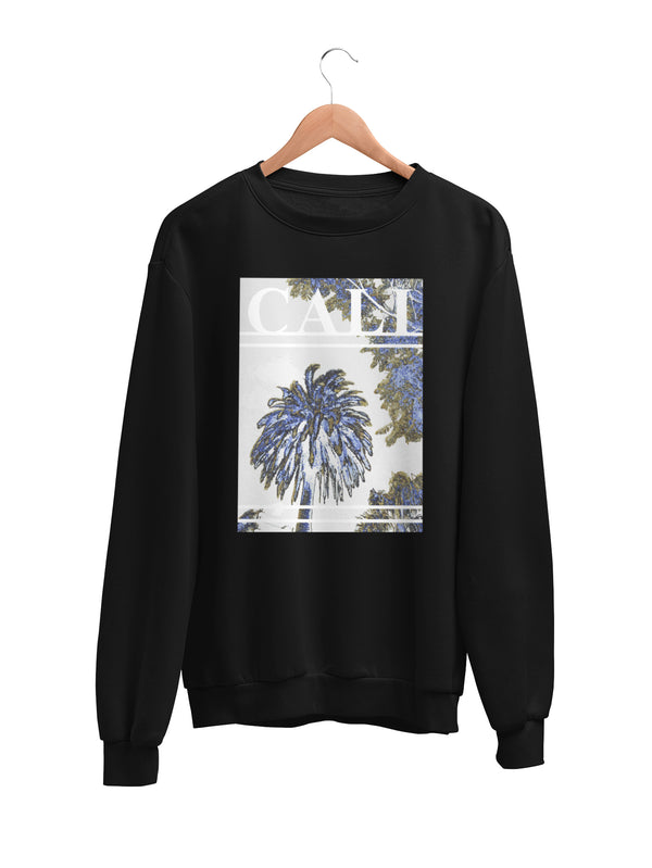 Sweatshirt with Cali Motif - Women