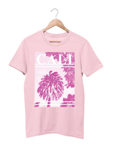 T-shirt with Cali Motif - Women