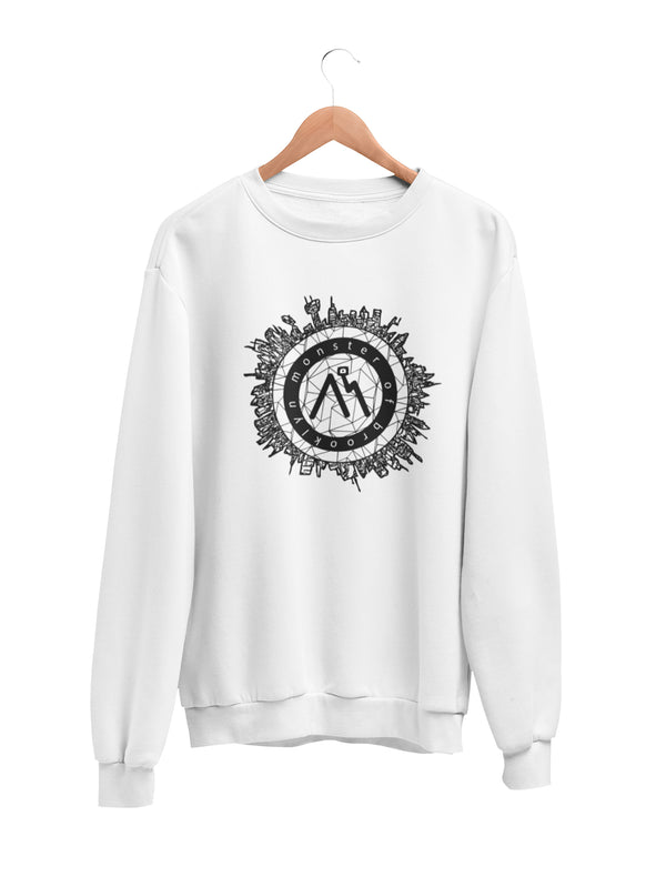 Sweatshirt with City Logo Motif