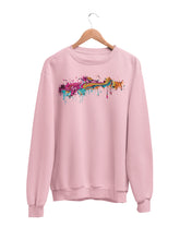 Load image into Gallery viewer, Sweatshirt with Color Splat Motif