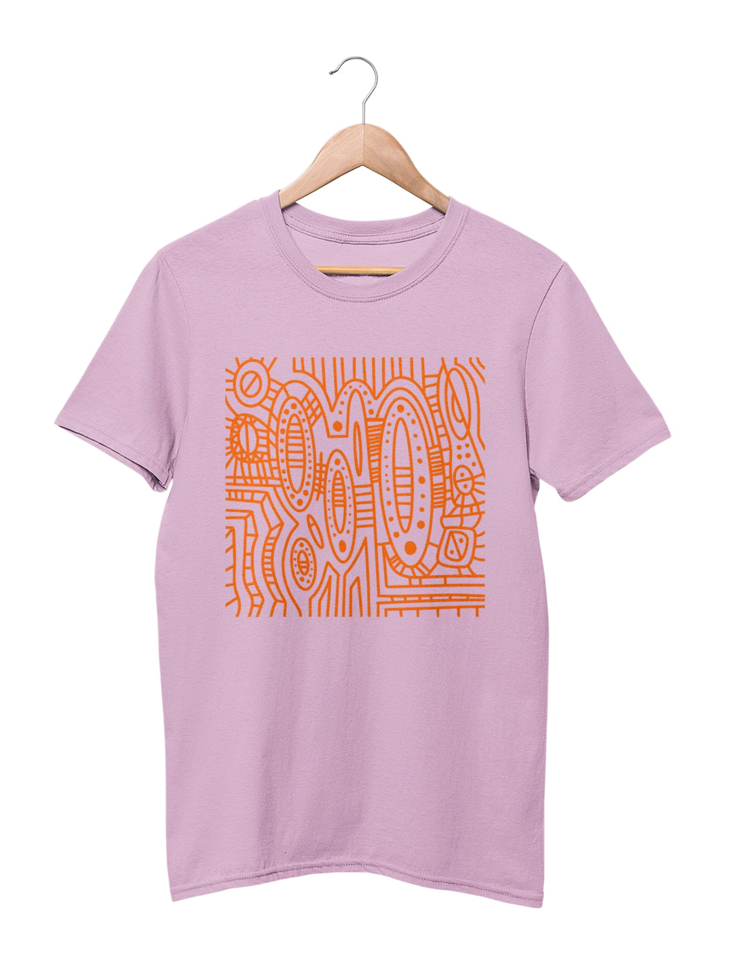 T-shirt with Cool Pattern Motif