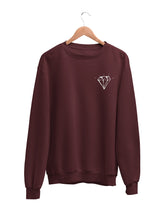 Load image into Gallery viewer, Sweatshirt with Diamond Motif - Women