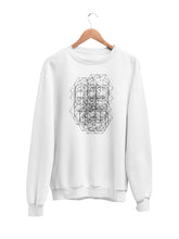 Load image into Gallery viewer, Sweatshirt with Geometric Motif