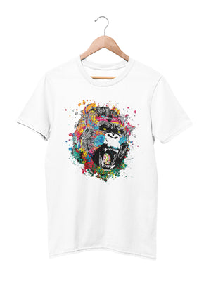 T-shirt with Gorilla graphics