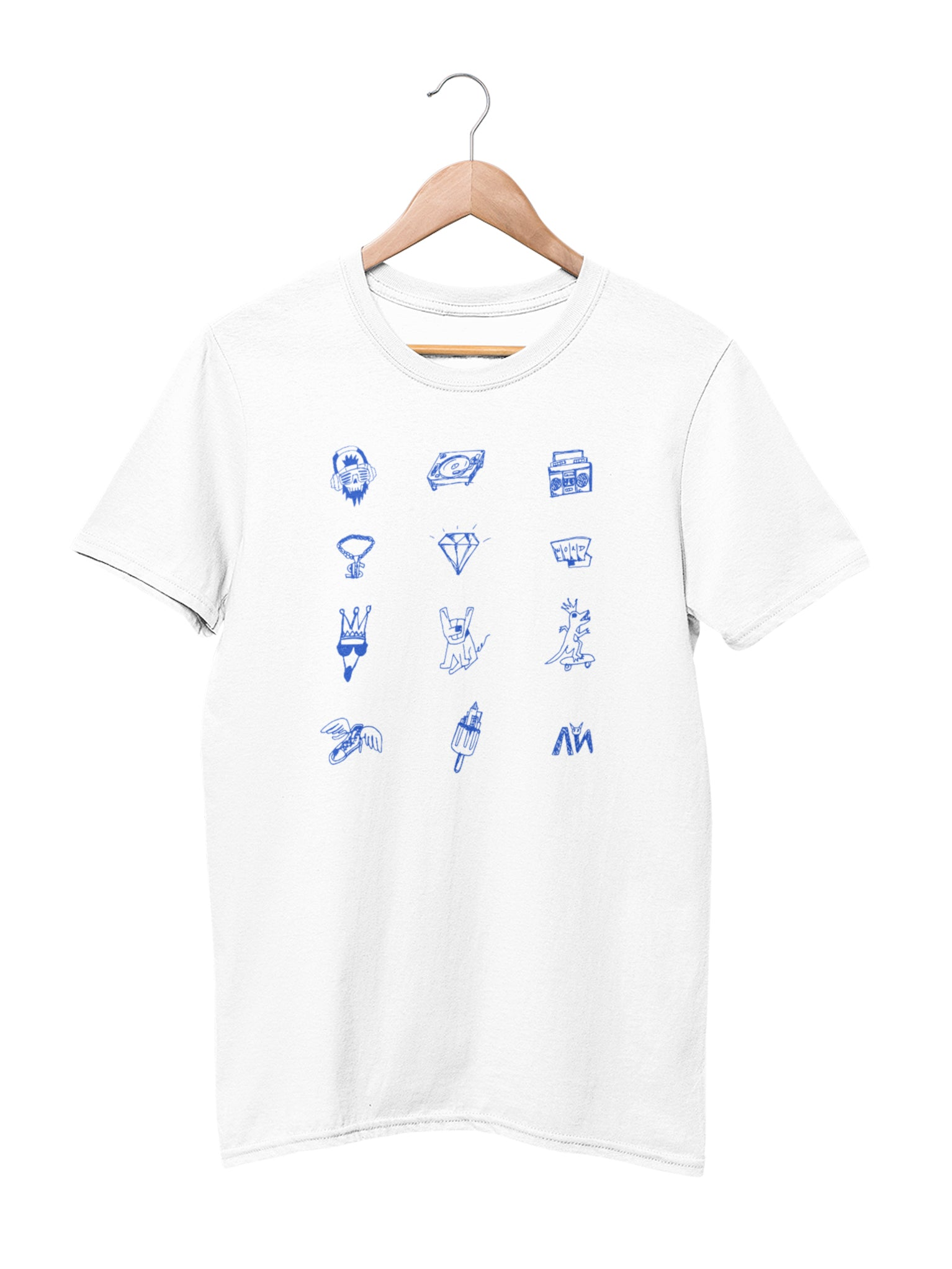 T-shirt with Icons motif