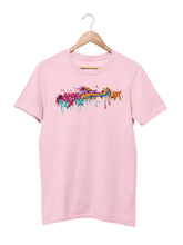 Load image into Gallery viewer, T-shirt with Colorful Motif