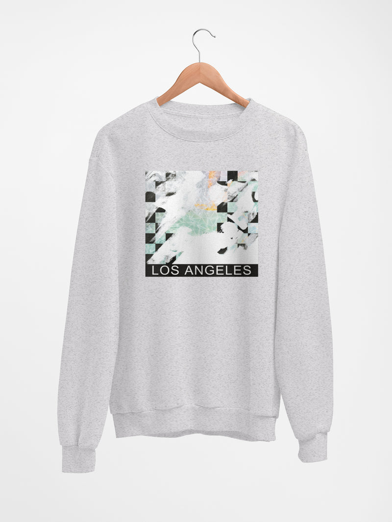 Sweatshirt with LA Patterns - Women