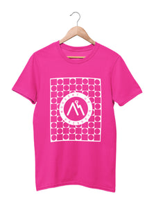 T-shirt Printed with M.O.B. Logo - Women