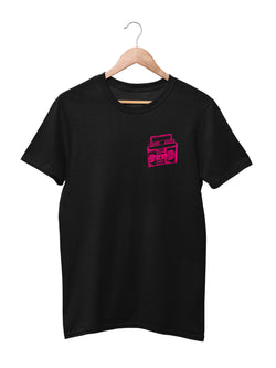 T-shirt with Music Motif - Women