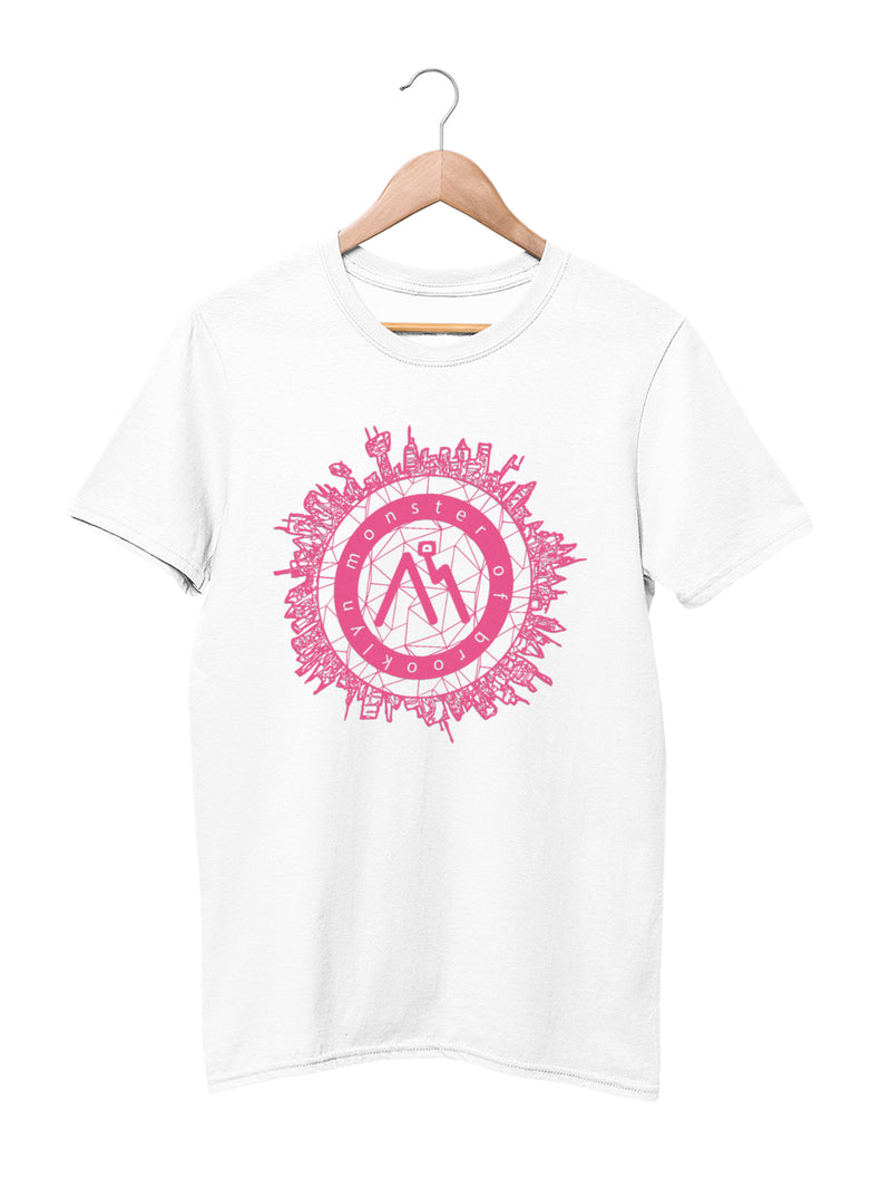 T-shirt printed with City Logo Motif - Women