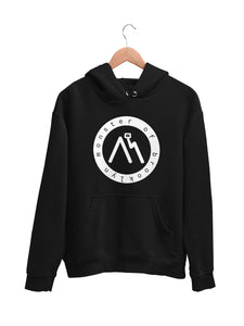 Hoodie with Logo Motif