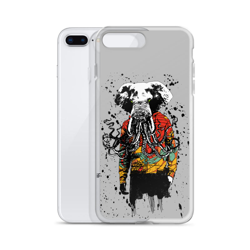 Elephant Buddy iPhone Case