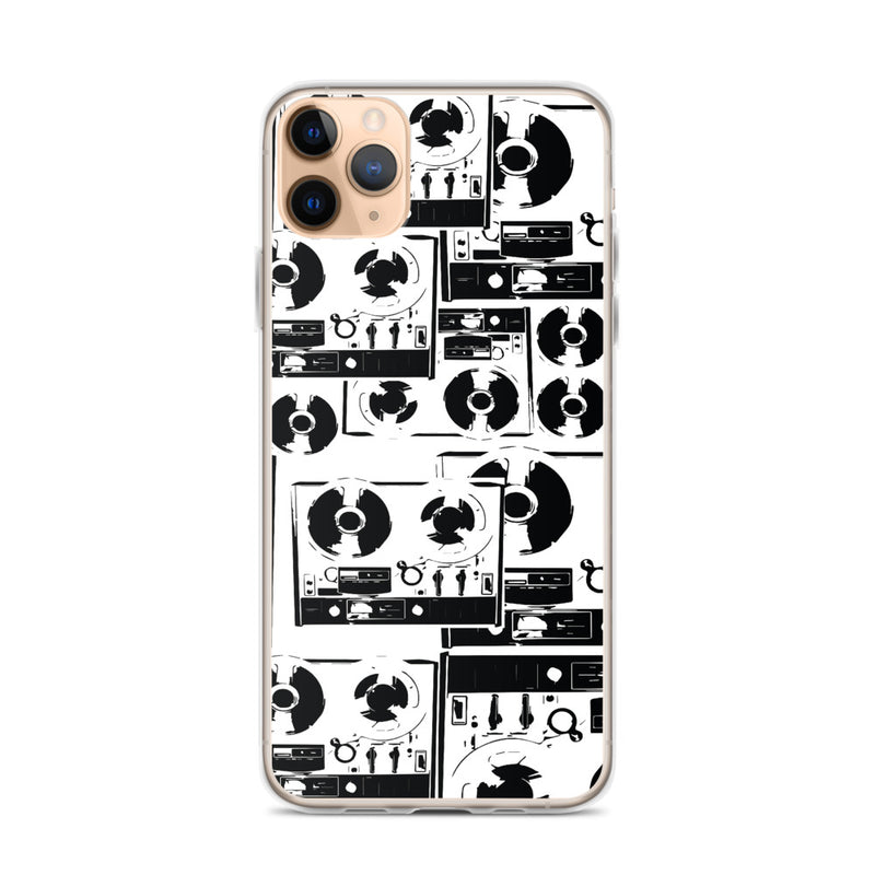 Boombox Illustration iPhone Case