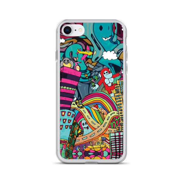Kid in the City iPhone Case
