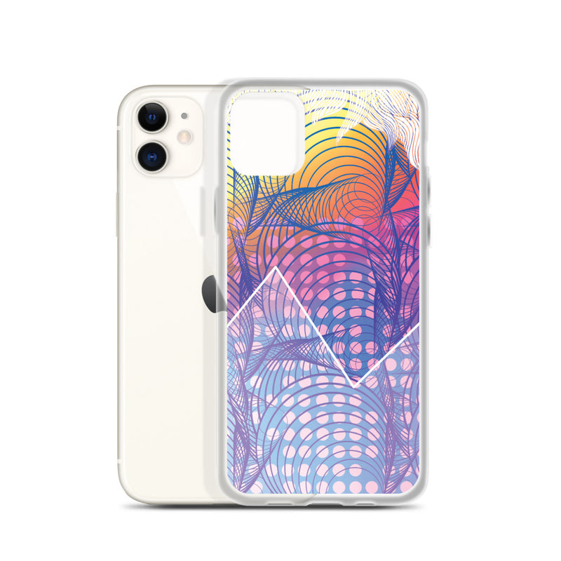 Modern Patterns and Mountain iPhone Case