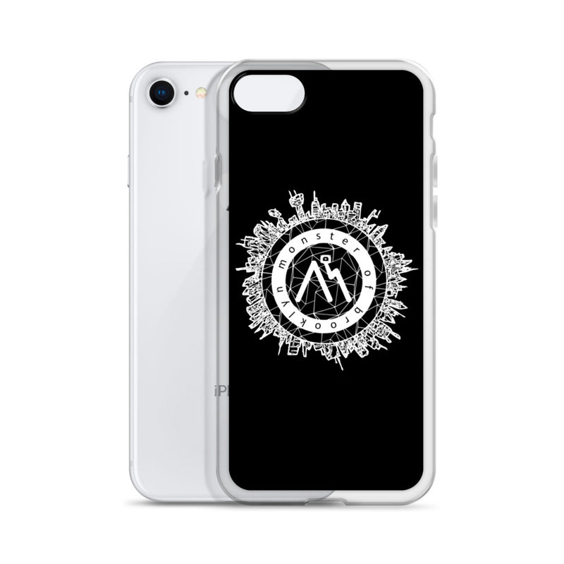Monster of Brooklyn City Logo iPhone Case