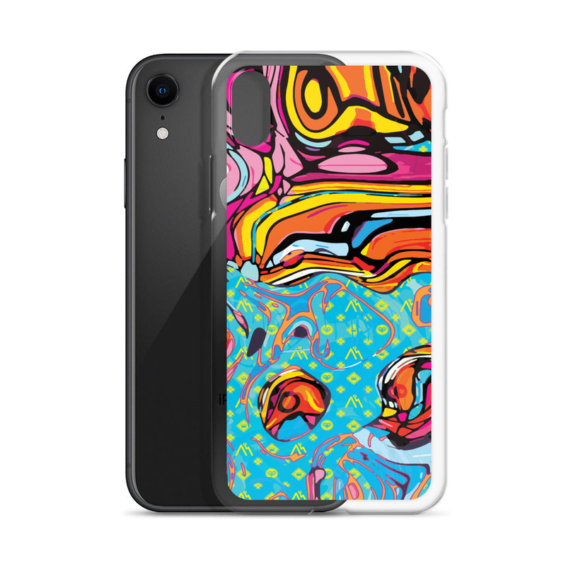Modern Logo Art iPhone Case