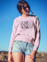 Load image into Gallery viewer, Sweatshirt with Music Motif - Women