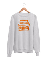 Load image into Gallery viewer, Sweatshirt with Boombox Motif