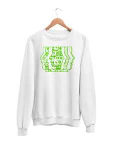 Sweatshirt with Music Motif