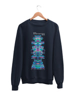 Sweatshirt with New York City Motif