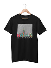 Load image into Gallery viewer, T-shirt with New York Motif - Women