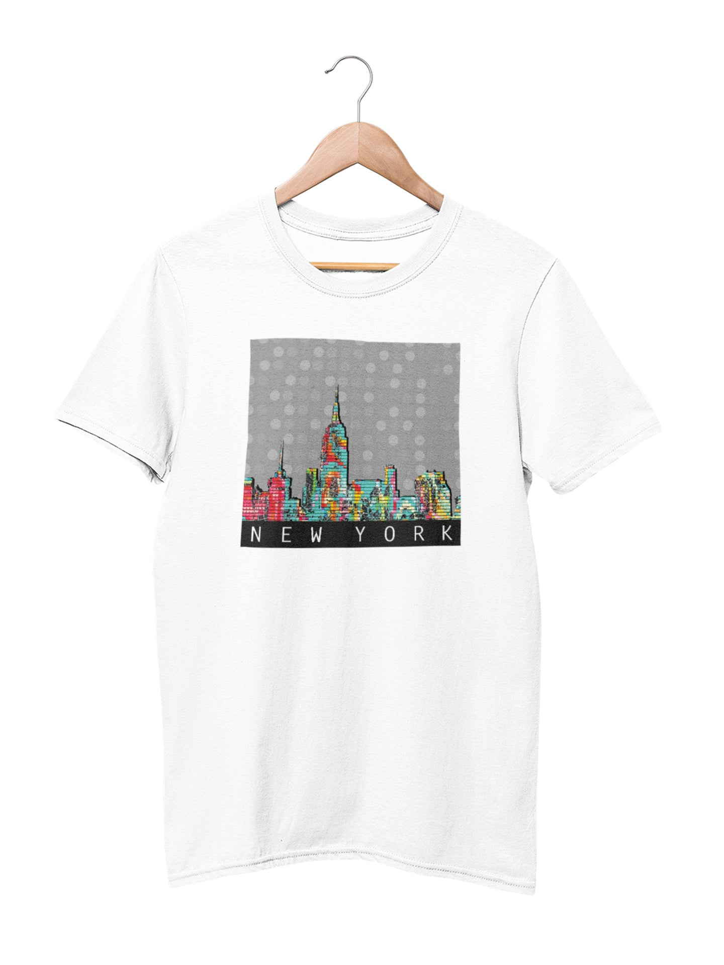 T-shirt with New York Motif
