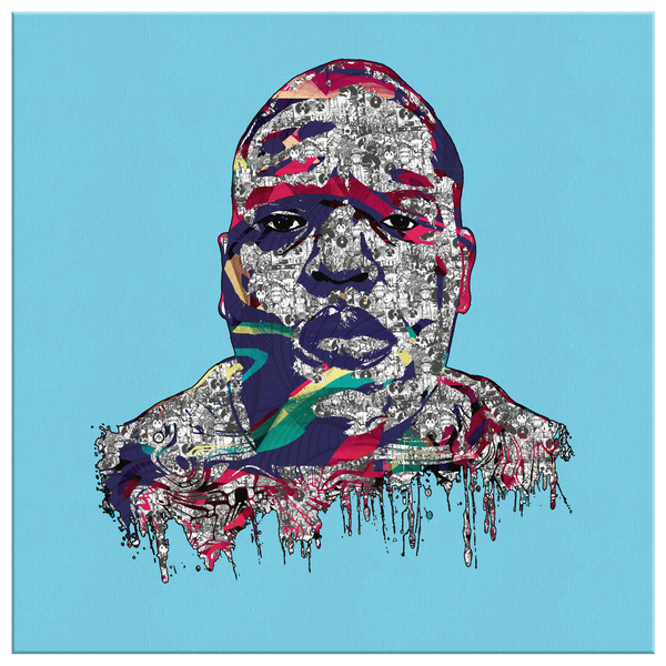 Notorious B.I.G., Biggie Smalls Canvas Art