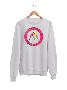 Sweatshirt with Logo Motif