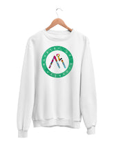 Load image into Gallery viewer, Sweatshirt with Logo Motif