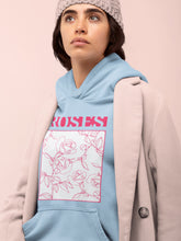 Load image into Gallery viewer, Hoodie with Roses Motif - Women