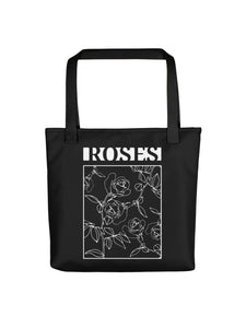 High Quality Tote bag with Roses Motif