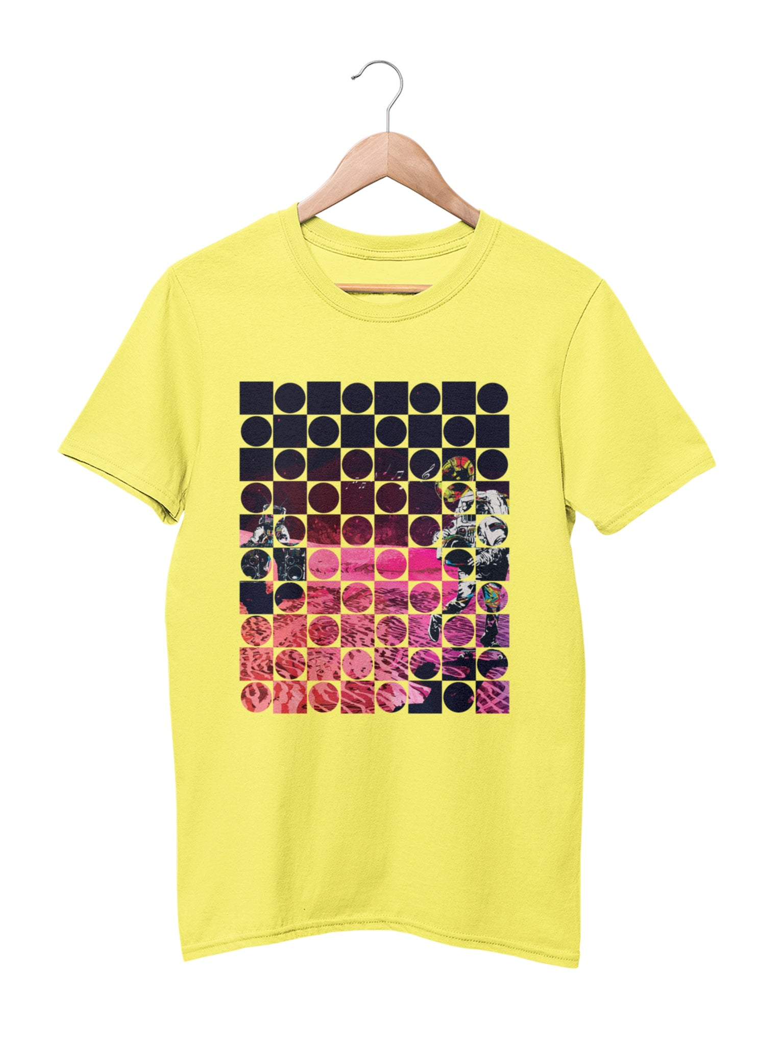 T-shirt with space motif