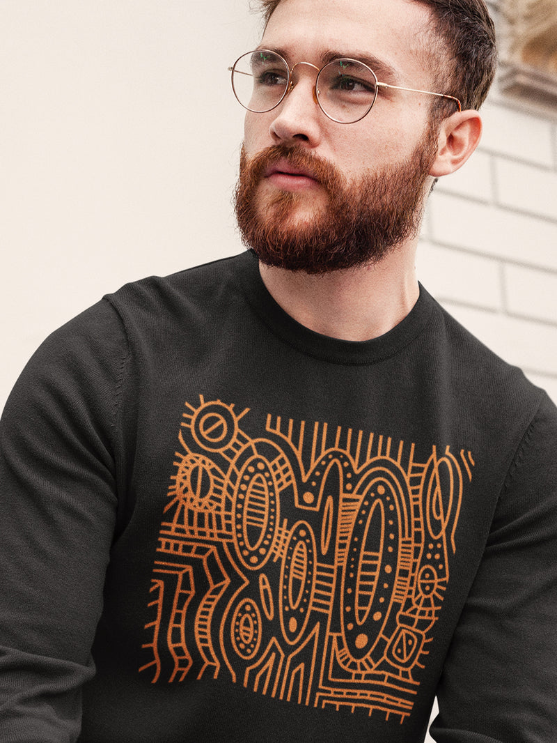Sweatshirt with Cool Patterns
