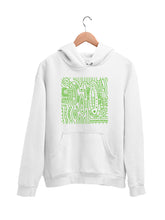 Load image into Gallery viewer, Hoodie with Cool Pattern Motif