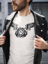 Load image into Gallery viewer, T-shirt Printed With Wing M.O.B Emblem